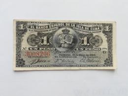 CUBA 1 PESO 1896 - Cuba