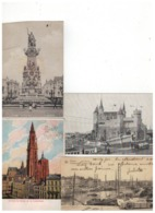 ANTWERPEN  Lot 100 Oude Postkaarten - 100 - 499 Karten