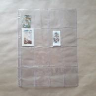 25 Inlegbladen Voor Kleine (oude) Panini-prentjes - Panini