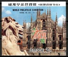 Korea North 1998 Corea / World Philatelic Exhibition Italy MNH Exposición Mundial De Filatelia Italia / Cu14230  30-32 - Exposiciones Filatélicas