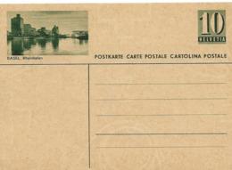 "207 - 92 - Entier Postal Neuf Avec Illustration ""Basel Rhenfelden"" - Ganzsachen"