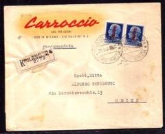 GR2231  - RACCOMANDATA R.S.I. - 1944-45 République Sociale