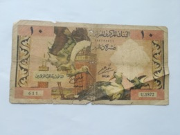 ALGERIA 10 DINARS 1964 - Algeria