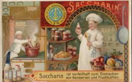 Chromo Saccharin Sucre Deutschland Cuisine Cuisinier Casserole Conserve - Autres