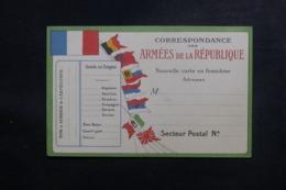 FRANCE - Carte FM Non Utilisé - L 47287 - Marcophilie (Lettres)