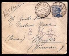 F6002  - LETTERA MICHETTI PER LA CINA - 1900-44 Victor Emmanuel III