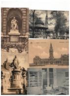 ANTWERPEN  Lot 100 Oude Postkaarten - 100 - 499 Postkaarten