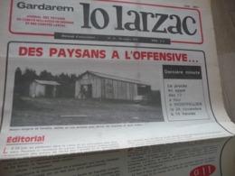 Journal Larzac Défense Du Larzac Gardarem  Lo Larzac N°16 Novembre  1976 - Languedoc-Roussillon