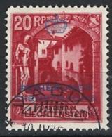 Liechtenstein 1932. Dienstmarke Mi 3B Perf. 11 1/2 O - Dienstpost