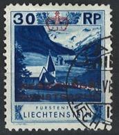 Liechtenstein 1932. Dienstmarke Mi 4B Perf. 11 1/2 O - Dienstpost
