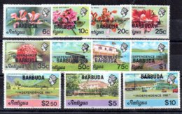 Barbuda Serie Completa Nº Yvert 556/66 ** FLORES (FLOWERS) Valor Catálogo 32.0€ - Antigua Und Barbuda (1981-...)