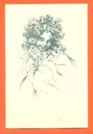 """CPA Art Nouveau Illustrateur Ferenchich """" Jeune Fille """" Carte Précurseur - Illustratori & Fotografie"""