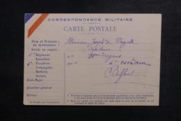 FRANCE - Carte FM Pour Belfort - L 47302 - Marcophilie (Lettres)