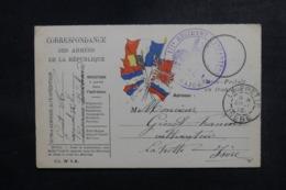 FRANCE - Carte FM Pour La Frette En 1915 - L 47303 - Marcophilie (Lettres)