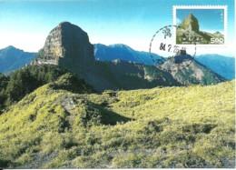 Carte Maximum - Taiwan - Formose - Shei-pa National Park - Tapachienshan - Maximum Cards