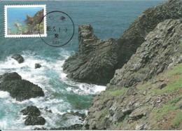 Carte Maximum - Taiwan - Formose - Penghu National Scenic Areas - Chimei Giant Lion - 1945-... Republic Of China
