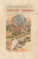 Chromo Chocolat Suchard Note Exposition Universelle 1900 Paris Globe Celeste - Suchard