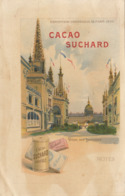 Chromo Chocolat Suchard Note Exposition Universelle 1900 Paris Dome Des Invalides - Suchard
