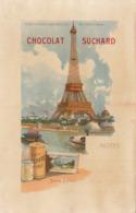 Chromo Chocolat Suchard Note Exposition Universelle 1900 Paris Tour Eiffel - Suchard