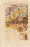 Chromo Chocolat Suchard Note Exposition Universelle 1900 Paris Grande Roue - Suchard
