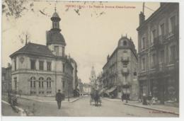 01 - BOURG (Ain) - La Poste Et Avenue Alsace Loraine - Bourg-en-Bresse