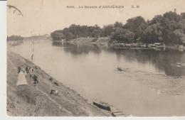 C. P. A. - LE BASSIN D'ASNIERES - E. M.  - 600 - ANIMÉE - Asnieres Sur Seine