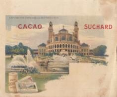 Chromo Chocolat Suchard Note Exposition Universelle 1900 Paris Trocadero - Suchard