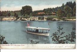 Merrimac River, MANCHESTER,  N.H., H.C. Leighton Co. (XA12) - Manchester