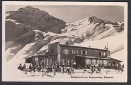 CPA  Suisse, DAVOS - PARSENN, Hochbetrieb Im Skiparadies, Carte Photo. - GR Grisons