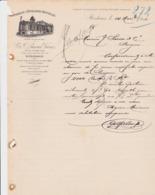BORDEAUX LACOUR FABIRQUE D ENVELOPPES DE BOUTEILLES ANNEE 1894 - Non Classés