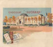 Chromo Chocolat Suchard Note Exposition Universelle 1900 Paris Grand Palais - Suchard