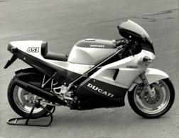 Ducati 851 Desmo +-24cm X 17cm  Moto MOTOCROSS MOTORCYCLE Douglas J Jackson Archive Of Motorcycles - Photographs