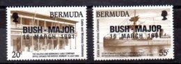 Bermudas Serie Completa Nº Yvert 598/99 ** Valor Catálogo 5.5€ - Bermudas