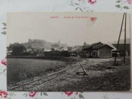 Jussey Arrivée Du Tram De Gray Haute Saône Franche Comté - Sonstige Gemeinden
