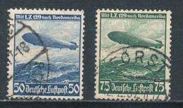 Deutsches Reich 606/07 Gestempelt Mi. 2,40 - Gebraucht