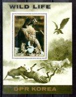 Corea Del Norte Hoja Bloque Nº Michel 187 ** AVES (BIRDS) Valor Catálogo 10.0€ - Corea Del Norte