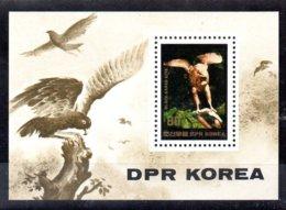 Corea Del Norte Hoja Bloque Nº Michel 189 ** AVES (BIRDS) Valor Catálogo 11.5€ - Corea Del Norte