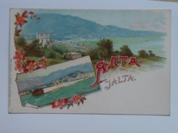 Russia 411 Jalta 1900 Litho - Russland