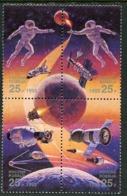 RUSSIA 1992 International Space Year MNH / **  Michel 241-44 - Neufs