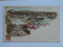 Russia 405 Odessa Odesa Litho 1900 - Russland