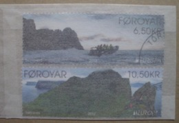 Färöer    Europa  Cept    Besuchen Sie Europa  2012  Stempel - 2012