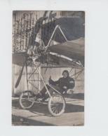 AVIATION -  AVIATEUR GERMANY - CARTE PHOTO - BRUNO HANUSCHKE - ECRITE - Piloten