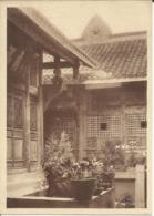 China Chine ; Monastère De Si'shan Shunking Sze Chwan. Cour Intérieure Devant L'Oratoire. - China