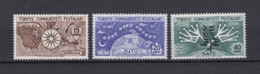 Türkei - Republik - 1954 - Michel Nr. 1388/1390 - 25 Euro - 1921-... Republic