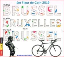 BELGIE - BU SET 2019 - BRUSSEL - 10 MUNTEN 8.88 € - Bélgica