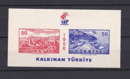 Türkei - Republik - 1956 - Michel Nr. Block 7 - 1921-... Republic