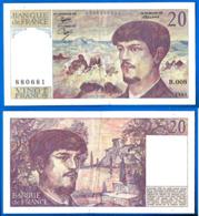 France 20 Francs 1981 Serix B 008 Que Prix + Port Debussy Franc Frcs Frs Paypal Bitcoin OK - 1962-1997 ''Francs''