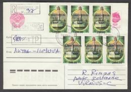 "Russia Sebastopol 1994  Local Overprint On Cover  ""lighthouse"" - 1992-.... Fédération"