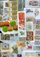 18 Kilo TEMBRES DU MONDE SUR PETIT PAPIER * 18 KILO STAMPS WORLDWIDE ON PAPER (132) - Postzegels