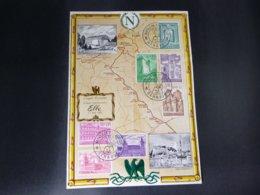 """BELG.1962 1205-1211 FDC Feuillet Napoleon Route : """"Meesterwerken Van De Bouwkunde/Chefs-d'œuvre D'architecture """" - 1961-70"""